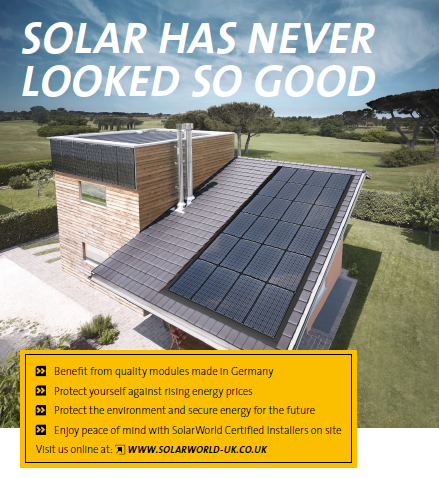 Solar has never looked so good! SolarWorld from RoLEC Electrical